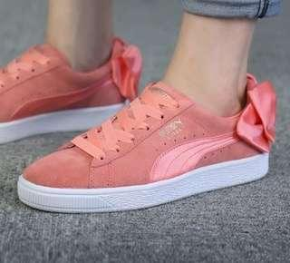 BN Puma Suede Bow Sneakers