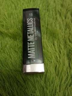 Maybelline Matte Metallics