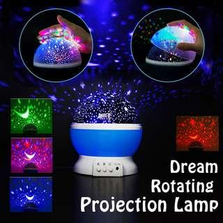 🚚 DREAM ROTATING PROJECTION LAMP