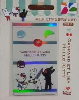 🚚 HELLO KITTY&麗莎和卡斯柏悠遊卡 NO.386