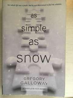 🚚 As Simple As Snow