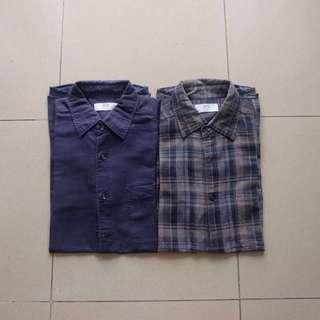 2 Uniqlo Shirt size S