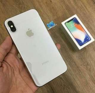 Iphone X 64gb silver second