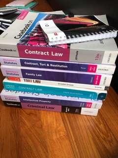 🚚 Contract Law textbooks
