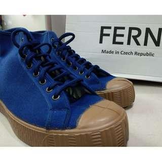 Fern hi top canvas shoes 帆布鞋