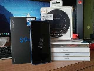 Galaxy S9+ Midnight Black with Freebies