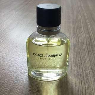 Dolce & Gabbana Pour Homme Eau de Toilette spray / D&G EdT cologne perfume fragrance mens men