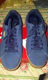 Puma Vikky Platform Suede Sneakers blue