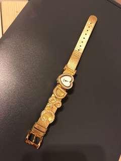 D&G金色手錶