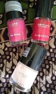 Pre-loved nail polish oriflame