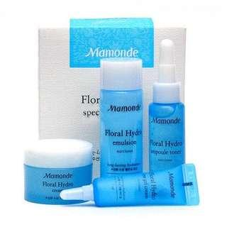 MAMONDE FLORAL HYDRO SPECIAL TRIAL KIT 4 ITEMS