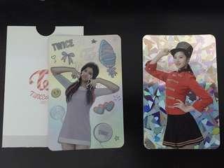 Twice Sana photocards
