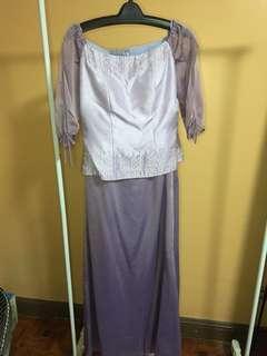 "Galatea ""Purple Gown"""