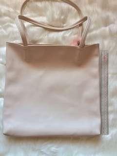 F21 cream bag