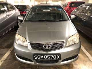 Toyota Vios 1.5A  $300/wk - Car Rental