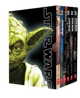 Star wars the collection I-VI six books 小說