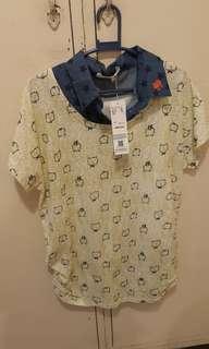 Collared cat shirt