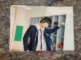 Amatsuki Koibito Boshuuchuu Limited Edition A4 Bonus File