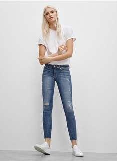 Aritzia The Castings mid-rise jeans in size 24