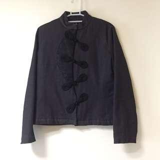 🚚 含草見山 中國風 鋪棉 設計 外套