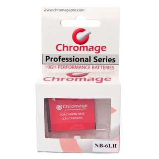 Chromage NB-6L Rechargeable Battery for Canon Cameras