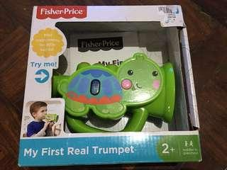 Fisher-Price My First Real Trumpet