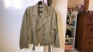 Green jacket size 8