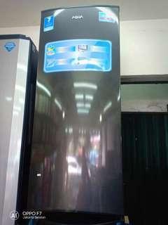 Promo Cicilan Tanpa DP Kulkas 1 pintu Aqua Japan