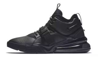 2ee76c08e002   FOR SALE LIMITED EDITION NIKE AIR FORCE 270 TRIPLE BLACK FOR MEN OEM  PREMIUM