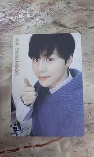 Wanna one ha sung woon official i promise you album photocars