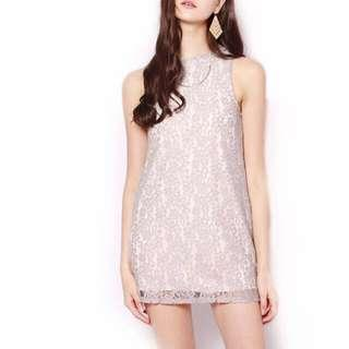 ShopSassyDream Grey lace dress