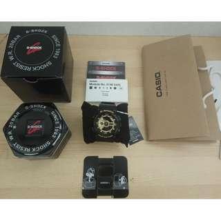 Casio Watches G-SHOCK Multifunctional Quartz Mens Watch GA-110GB-1A