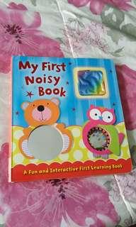 My first noisy book