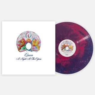 Queen – A Night At The Opera (2018 US Deluxe Club Edition - MULTI-COLOUR GALAXY 180g Vinyl - SEALED - MINT)