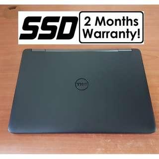 [Speedy SSD i5 Gen4 Laptop] Dell E5440: 240GB SSD! (Core i5 Notebook)