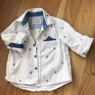 Gingersnaps Pineapple Shirt