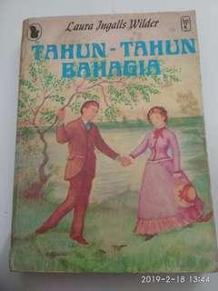 Buku cerita Jadul Laura Ingalls seri Tahun-tahun Bahagia