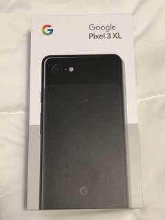 BNIB Google Pixel 3 XL 128 GB Just Black