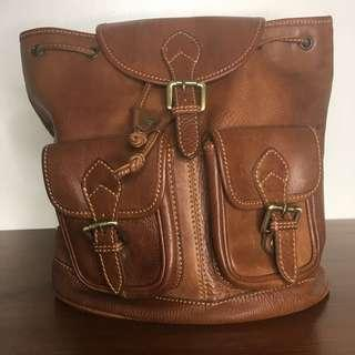 Leather Bag Made in Italy