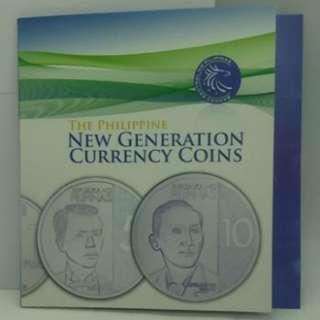 The Philippine New Generation Currency Coins