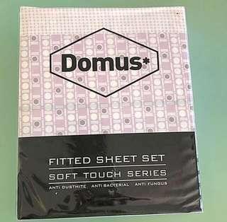 (BNIP) DOMUS Queen Size Bedsheet (2019) ~ 100% Colton