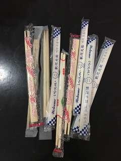 Assorted disposable Chopsticks