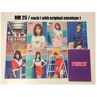 Twice Official Japanese Trading Cards