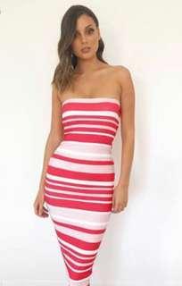 Kookai Bay Stripe Dress, sz1