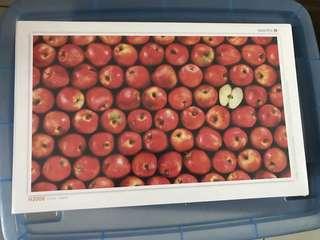 一千塊蘋果puzzle 1000塊 未拆封 高難挑戰
