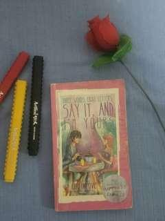 Say it and I'm yours WATTPAD BOOK