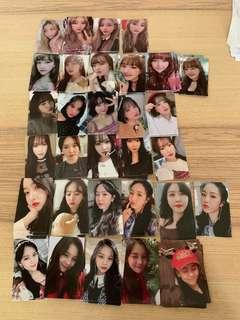 GFRIEND TIME FOR US ALBUM PHOTOCARDS