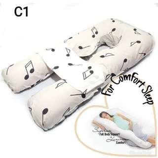 U-Shaped Pregnancy Maternity Pillow Bantal Mengandung