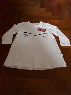 🚚 Hello Kitty Top 4-6 months