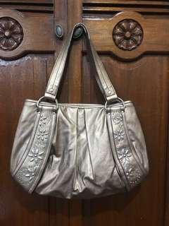 Metallic Tote Bag by Nine & Co